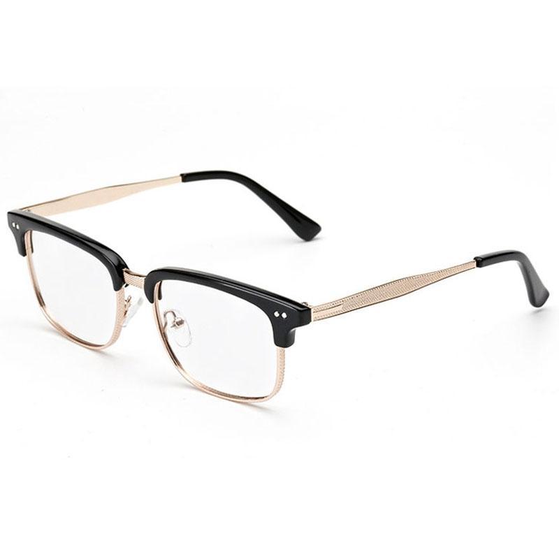 Gözlük Çerçeve Şeffaf Lensler Kadınlar Için Gözlük Çerçeveleri Gözlük Çerçeve Göz Çerçeveleri Erkekler Optik Gözlük Çerçeveleri Moda Lüks Gözlük 2C2J07