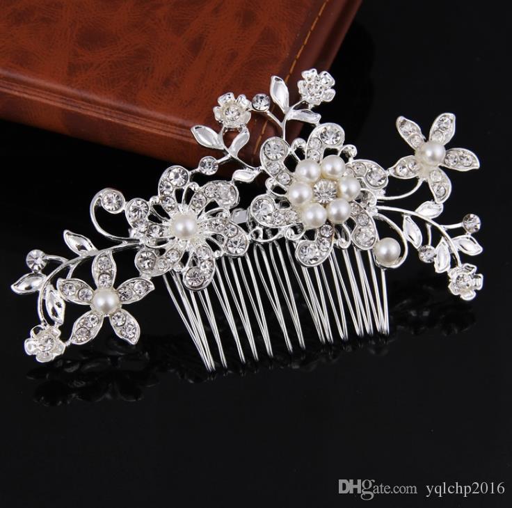 Venta clásica de peines, novias, perlas de diamantes, artículos de sombrerería, accesorios de vestidos de novia.