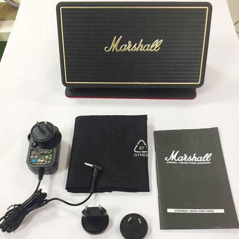 Marshall Marke Bluetooth Lautsprecher Stockwell mit Flip Cover Portable Stereo Lautsprecher