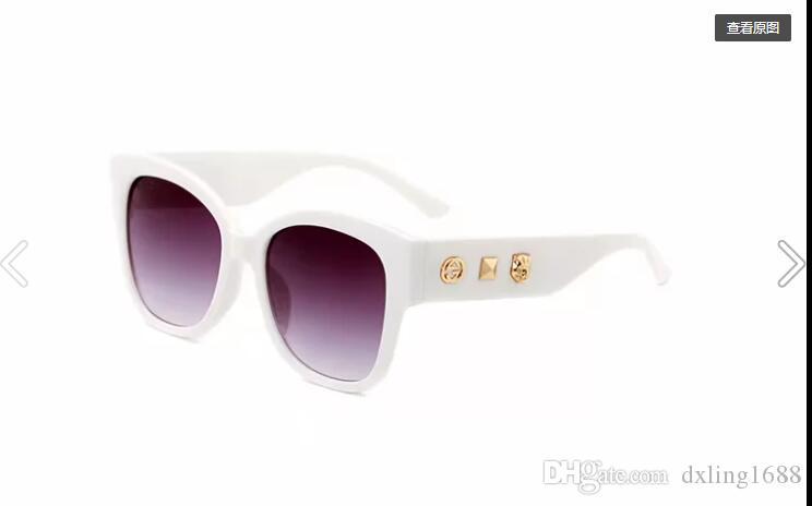 Occhiali da sole Luxury vvv Marca uomo donna occhiali da sole montatura in metallo fibbia in pelle rimovibile Occhiali vintage Medusa