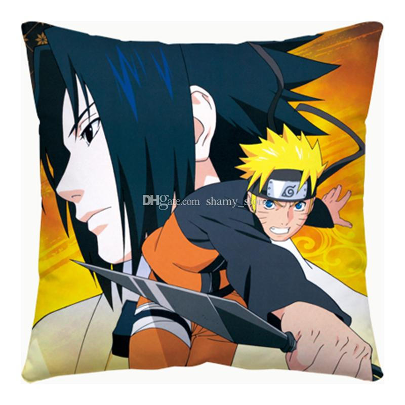 Superb New Anime Pillow Cartoon Naruto Uchiha Sasuke Itachi Square Pillow Customize Gift Knee Pillow Pillow Protectors From Shamy Store 19 1 Dhgate Com Machost Co Dining Chair Design Ideas Machostcouk