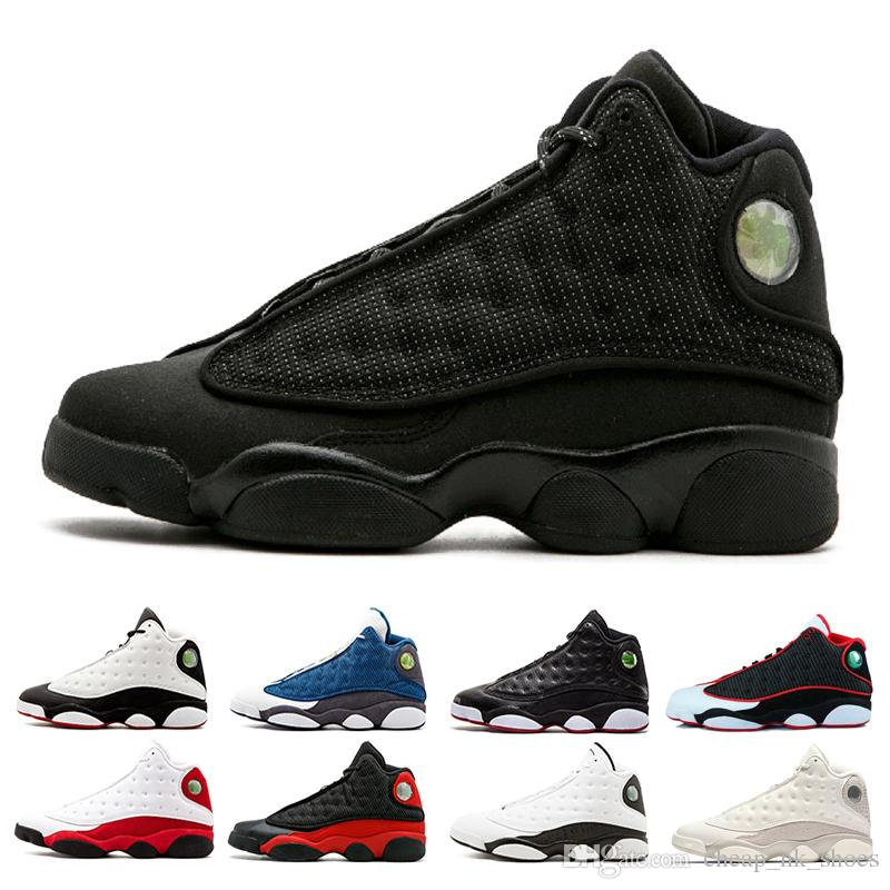 Compre Air Jordan Retro 13 Diseñador 13 13s He Got Game Hombre Zapatillas  De Baloncesto Phantom Black Cat Altitude Criado Hyper Royal Playoffs  Chicago ...