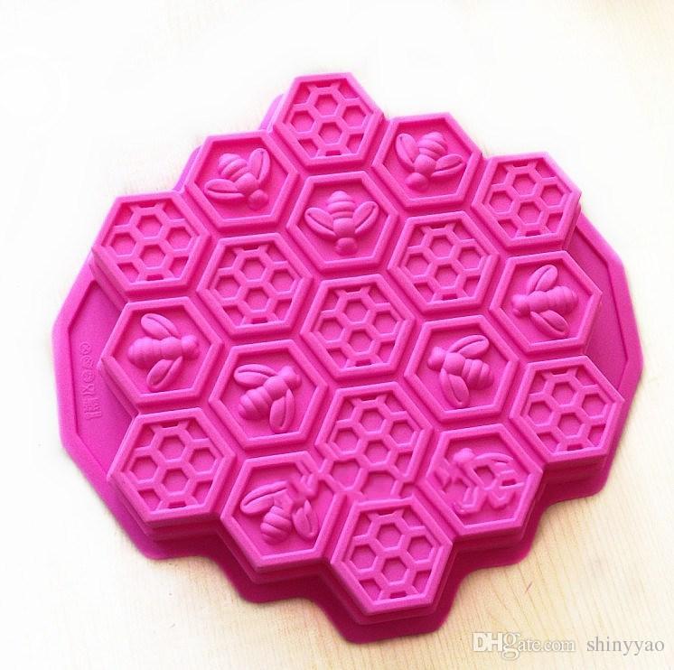Diferentes estilos de abejas de silicona, peces, tigres, dinosaurios, animales con delfines, moldes para pasteles en forma de bricolaje herramienta para hornear, jabón, caramelo de chocolate, gelatina, moldes
