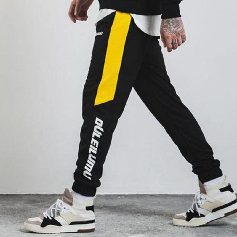 Pantalones de fútbol caliente otoño invierno corriendo pantalones de entrenamiento para hombre chándal Joggers Gym Leggings hombre Fitness cintura alta pantalones de sudor hombres