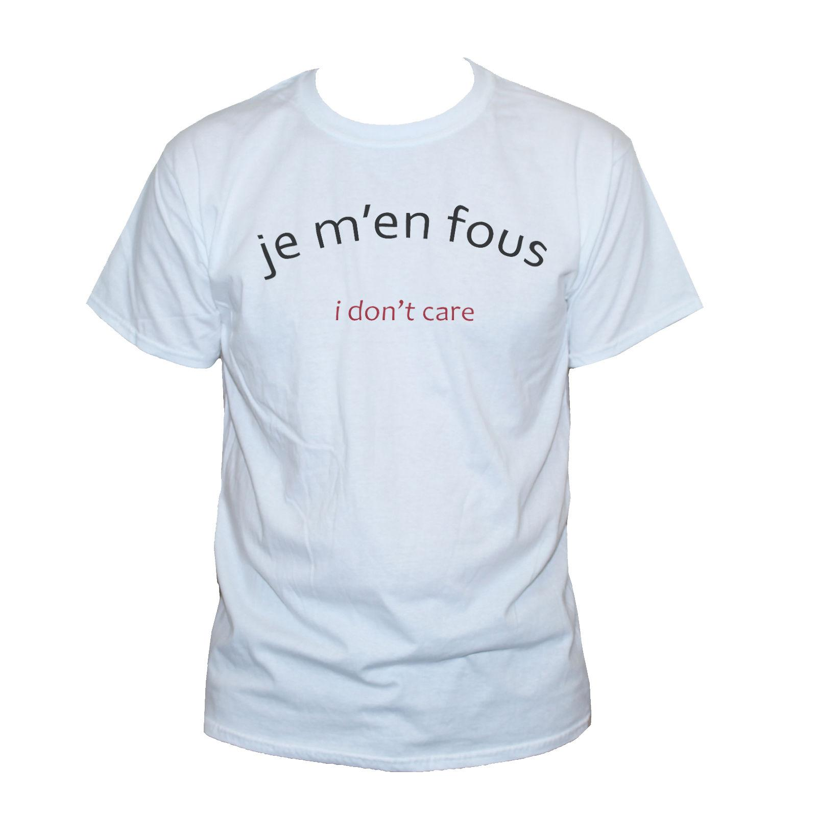 Acheter Je Men Fous I Dont Care T Shirt Grunge