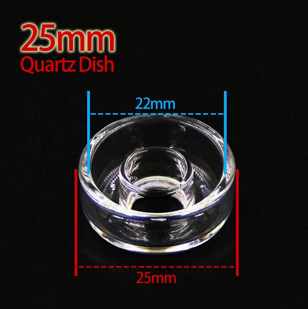 100% Real Plato de Cuarzo Clavos Eléctricos Reemplazo de Uñas de Titanio de Alta Calidad Fit Dab Rigs Bongs de vidrio