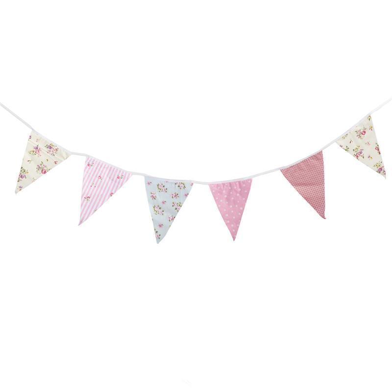 Polkadot violet lilas Personnalisé Baby Shower bunting