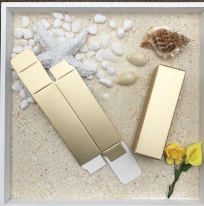03.09 / 2.5 * 2.5 * 8.5cm de regalo caja de papel para embalaje caja de lápiz de labios del lápiz labial del favor de fiesta de la muestra de perfume del aceite esencial Sprays