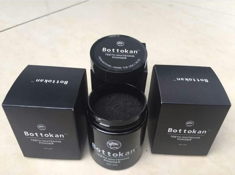 45g Bamboo Charcoal Nature Activated bottokan Teeth Whitening Powder Coffee Tea Stains of Smoking Removal Oral Hygiene Care DHL 200pcs