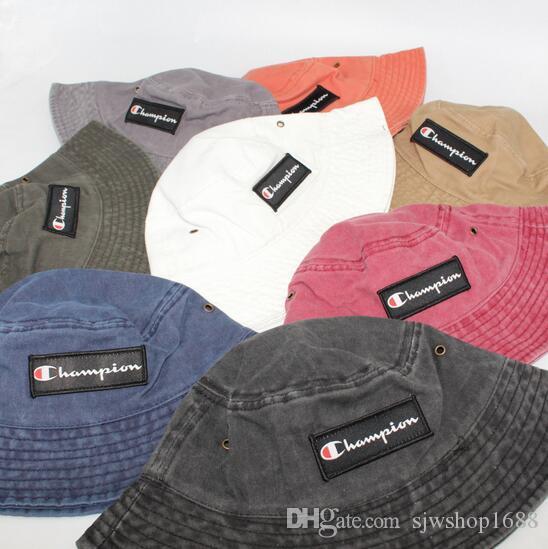 Yeni Moda Yama harfler Fisherman's Şapka Havzası Şapka erkek Ve kadın Şapka Sokak Dans Kaykay Kap Güneş Şapka G7156