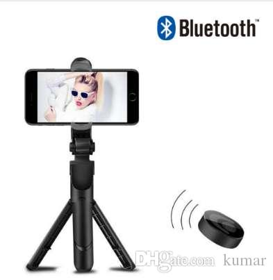 FG3 المحمولة ترايبود Selfie عصا 3 في 1 بلوتوث للتمديد Monopod Selfie عصا ترايبود لفون se 8 سامسونج