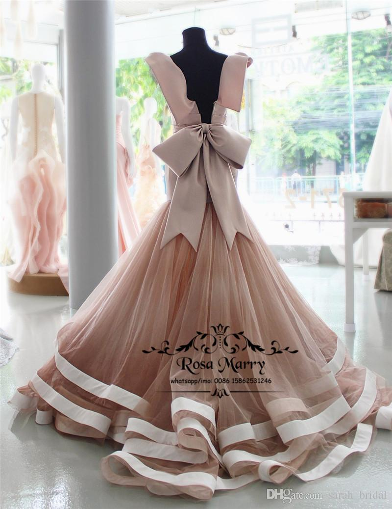 Sexy Blush Pink Mermaid African Prom Dresses 2019 Plus Size Ruffles Skirt Cheap Arabic Girls 2K19 Formal Graduation Evening Party Gowns