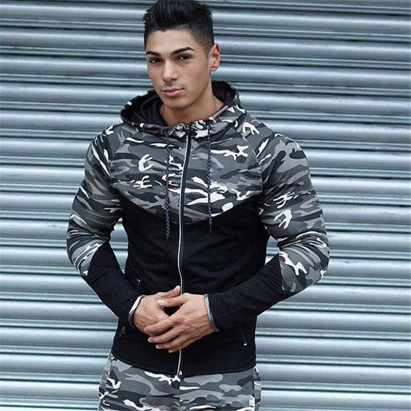 Casual Hip hop Hoodies jacket men-8