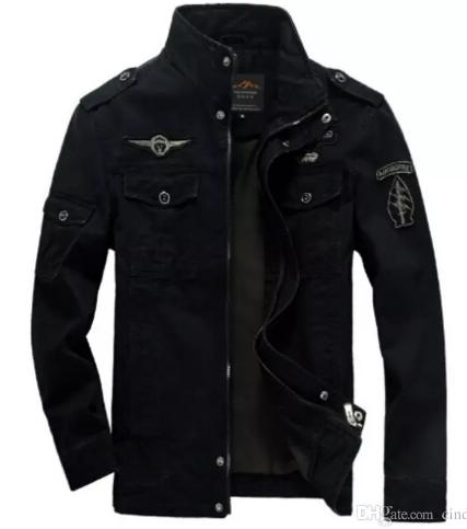 Men Military Army jackets plus size