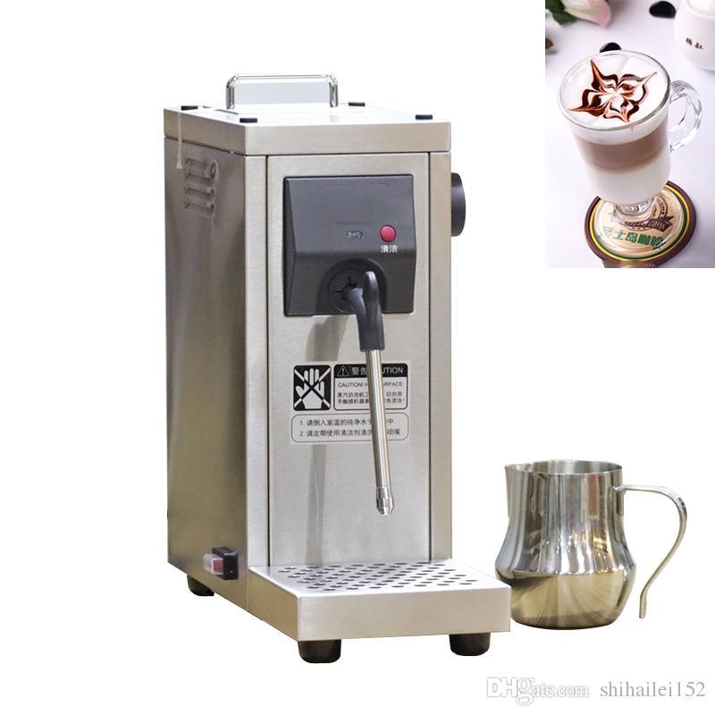 2018ree shipping220V Kommerzieller Pumpendruck-Milchschäumer / vollautomatischer Milchdampfer-Kaffeeschäumer-Milchschaummaschine MS-130