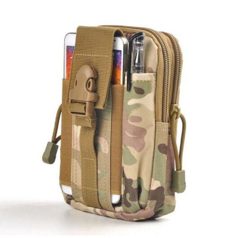 2018 Mens D30 Waterproof Military Belt Waist Bags 1000D Nylon Mobile Phone Wallet Travel Pouch Bolsa Hot Sale Qo61