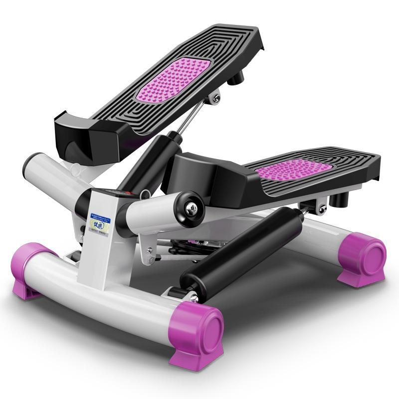 Exercise Stepper Household Mini Elliptical Machine Treadmill Jogging Machine Fitness Equipment LCD Display 120kg Bearing
