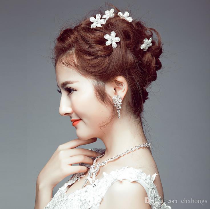 2019 2018 Bridal Korean Hair Bun Hair Accessories Bridal Dress Accessories Wedding Bridal Handmade Headwear From Chxbongs 1 51 Dhgate Com