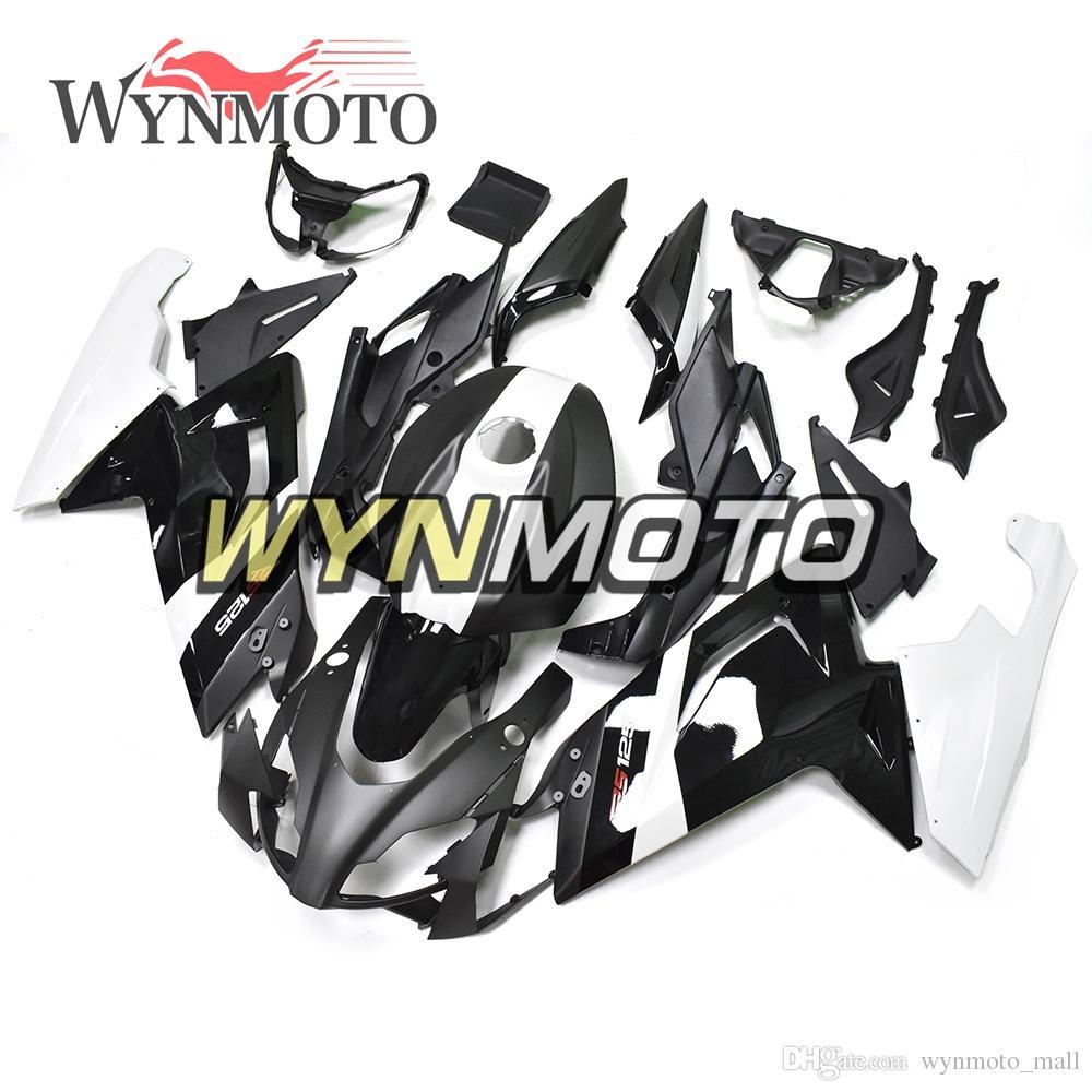 Kit de carrocería de motocicleta negro ABS carrocería de inyección para 2006 - 2011 Aprilia RS125 Kit de carenado completo Kit de carrocería cubierta