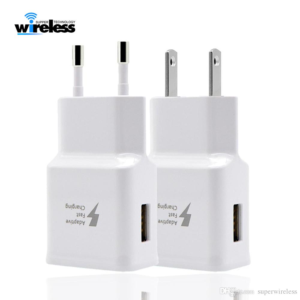High Quality Fast USB Wall Charger Travel Adapter 9 5V 2A 9V 1.67A For Samsung s6 charger note 9