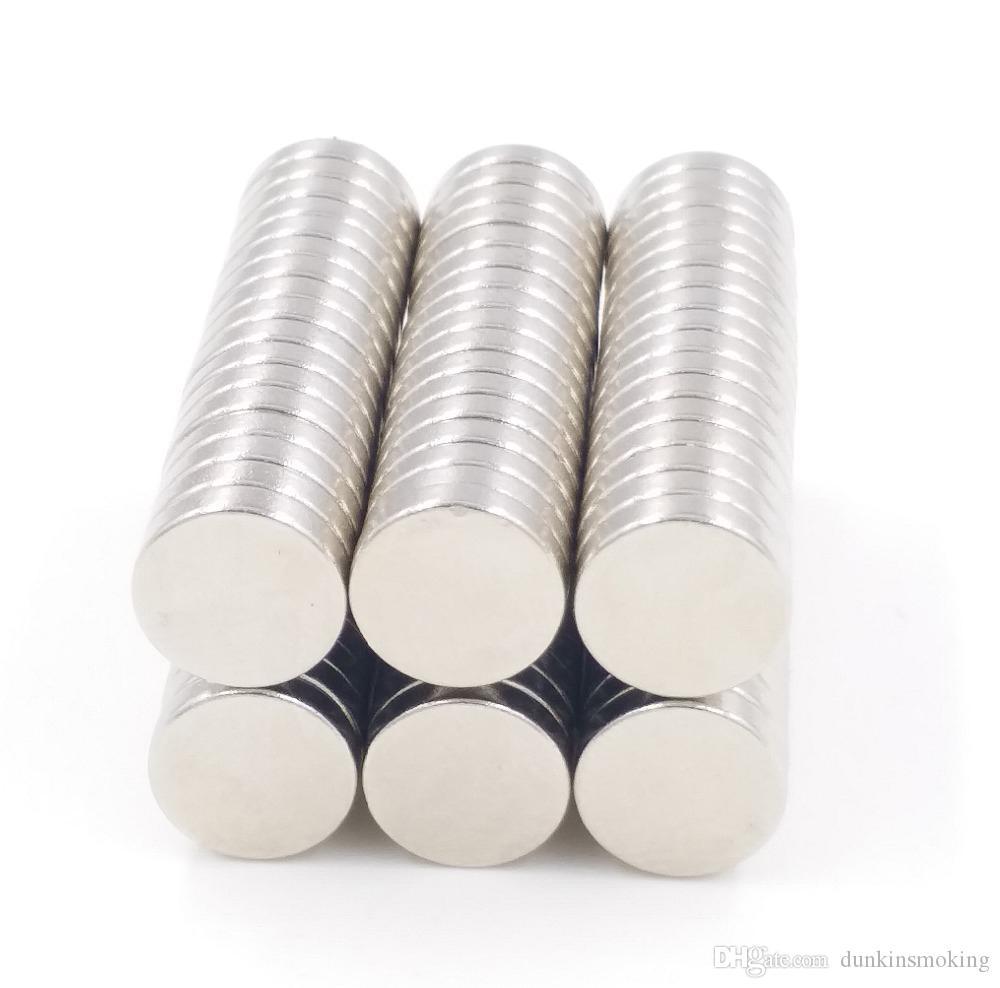 100pcs Dia.12mm x 1.5mm Magneti rotondi con magnete al neodimio rotondi per terre rare