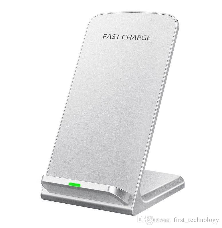 Fast Wireless Charger Charging Pad for Samsung Galaxy Note 8 S8 Plus S7 Edge Note 5 S6 Edge Plus, Standard Charge for Apple iPhone X 8 Plus