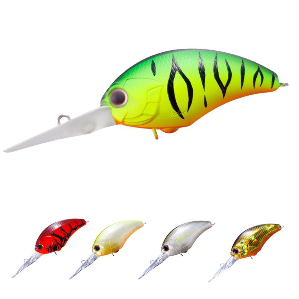 1PCS 9cm 12g Floating Fishing Lures Deep Diving Japanese Wobbler Crank Bait Bass Pike Crankbait wIth Hook Y18100906