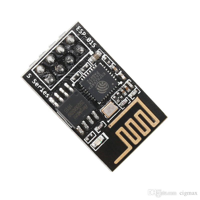 OOTDTY Nouveau module émetteur-récepteur sans fil série-WIFI ESP-01S 8266 Envoyer Recevoir AP STA