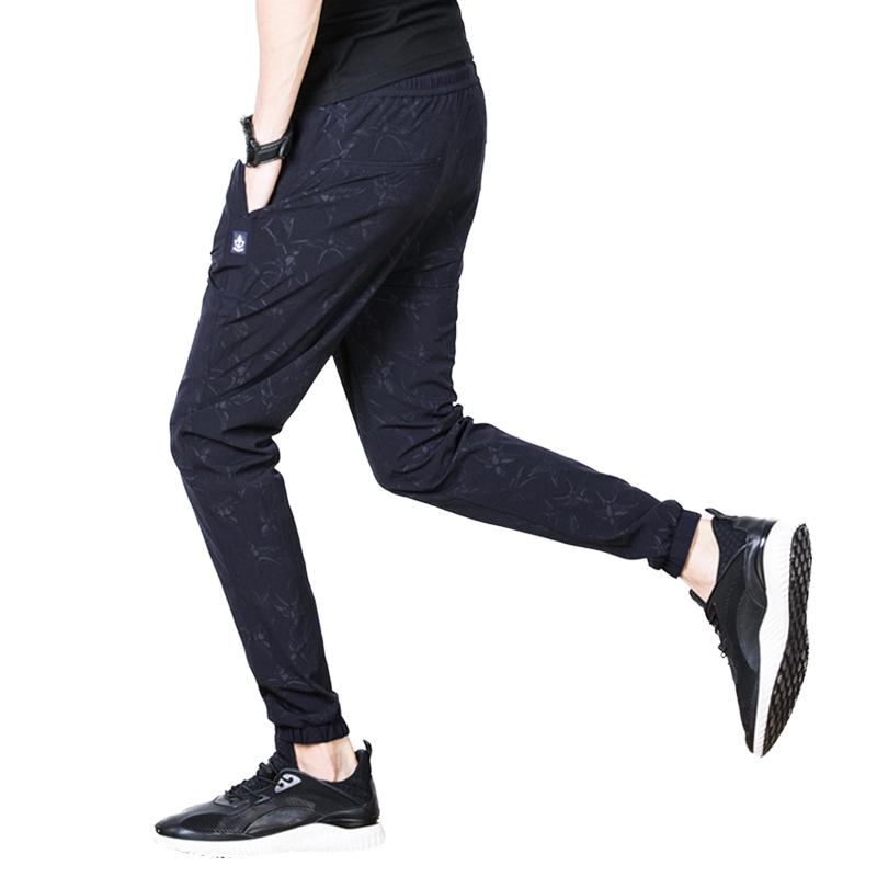 Thin section pants Obscure camouflage pants Men's sweatpants Sports trousers