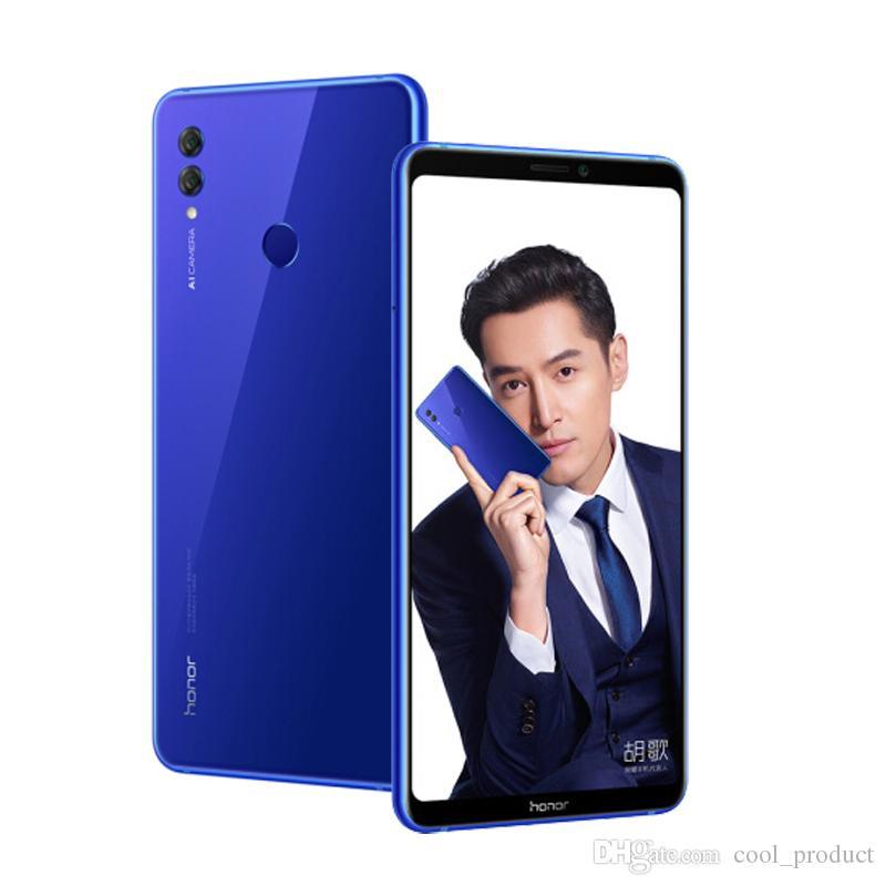 Original Huawei Honor Nota 10 4G LTE telefone celular 6GB RAM 64GB RAM Kirin 970 Octa Núcleo Android 6,95 polegadas tela cheia 24.0MP Smart Mobile Telefone
