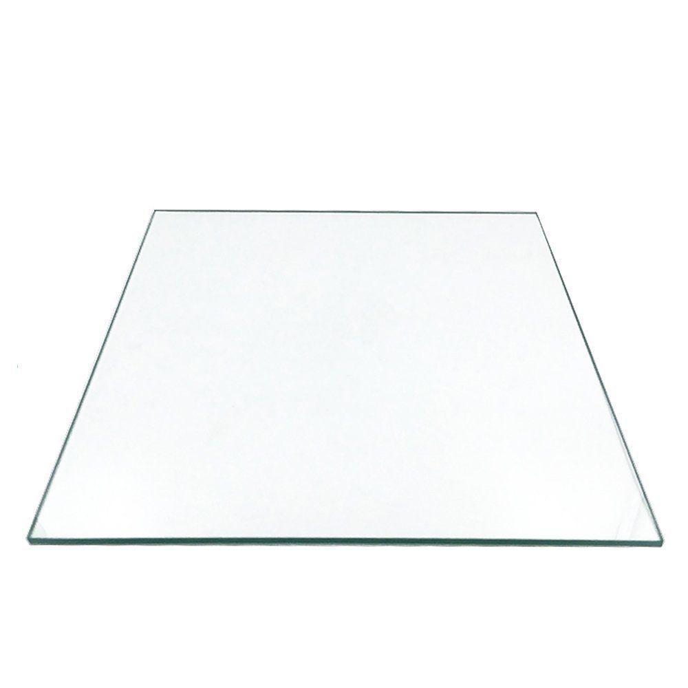 120мм х 120мм х 3мм боросиликатного стекла пластины / кровать ж / плоский полированный край площади для 3D-принтера