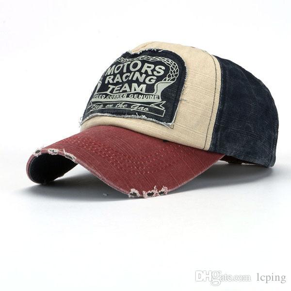 Klasik Işlemeli motoes yarış takımı Snapback Beyzbol Şapkası tasarımcı şapka moda açık güneşlik şapka Hip Hop kap kaliteli