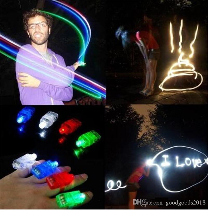 Hot Sale 1000PCS/lot Led Finger Ring Laser Beam Torch Balloon Light Blue Favors And Gifts Navidad Hot Selling for Decoration TO342