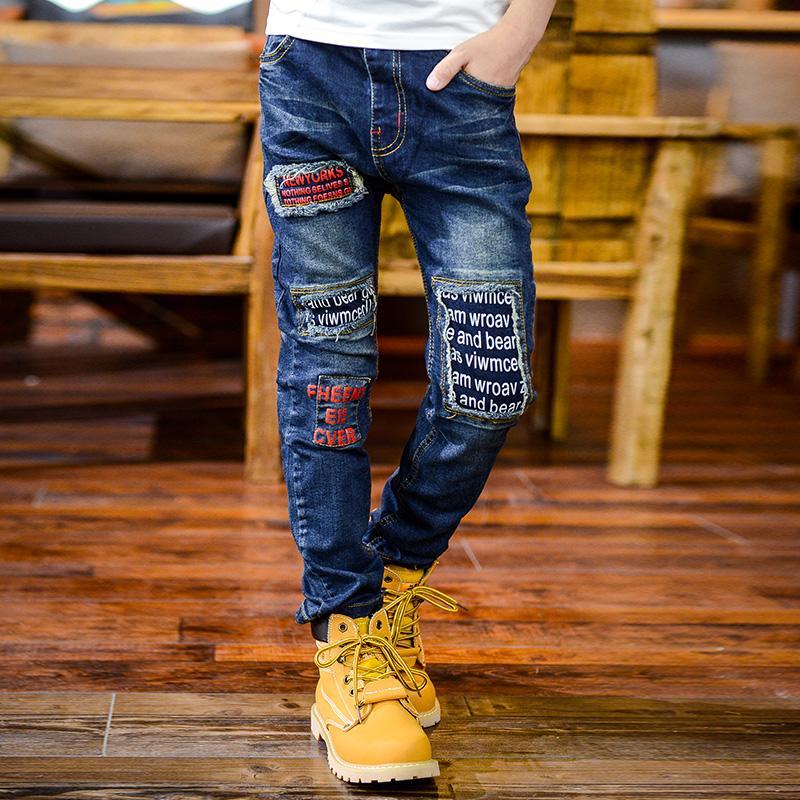 Compre Pantalones Para Ninos Pantalones Para Ninos De Pioneer Pantalones Vaqueros Para Ninos Pantalones Cortos De Cintura Elastica Pantalones Vaqueros De Primavera Y Otono Pantalones Vaqueros Para Ninos Moda Para Ninos Adolescente