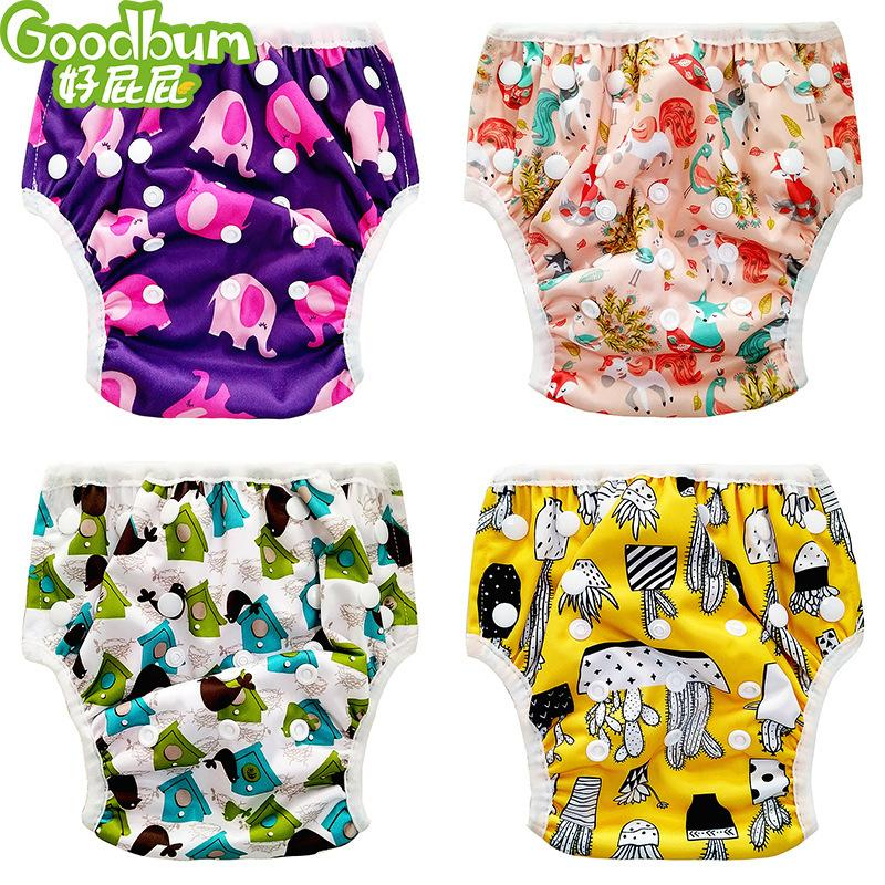 Swim Diaper Unisex One Size Waterproof Adjustable Swim Diaper Pool Pant Baby Reusable Washable Pool Diaper 20 Color