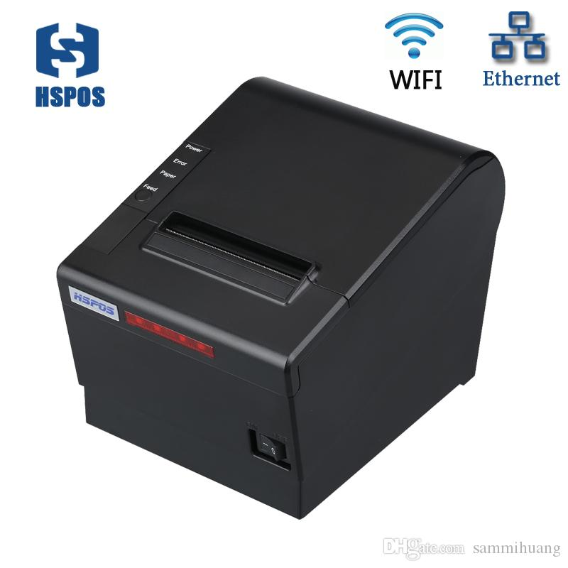 متعددة الوظائف واي فاي بلوتوث استلام الطابعة الحرارية 80mm مع دعم واجهة الشبكة المحلية opos مع الصافرة