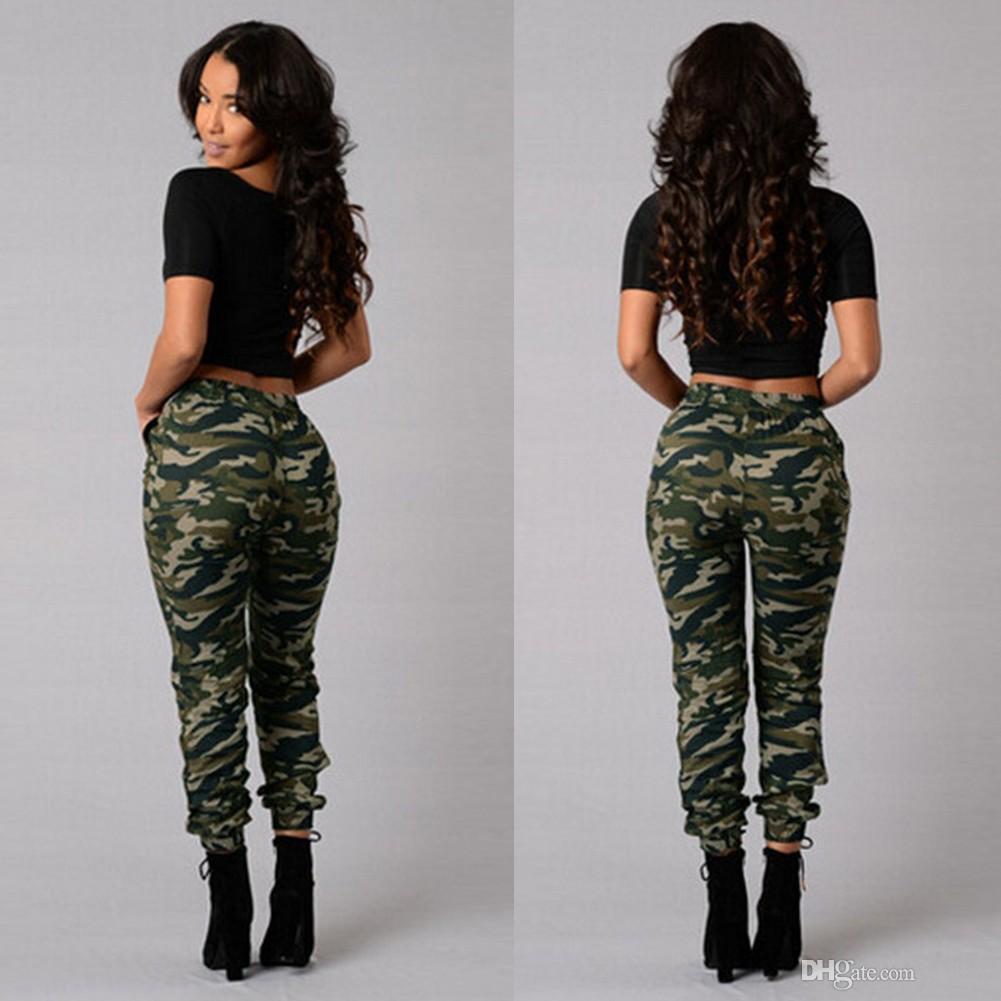 Camouflage imprim/é Camo Pantalons Femmes Slim Pantalons de Loisirs /à Lacets Legging Grossesse Cargo /ét/é Hiver imprim/é Yoga Sport Militaire Grande Taille Slim Fluide Stretch Jogging