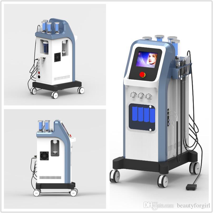 7 in 1 Israel Technologie 8 bar Sauerstoffstrahl peel Wasser Dermabrasion hydra facial Mikro hydradermabrasion oxgen Injektor Spa Maschine