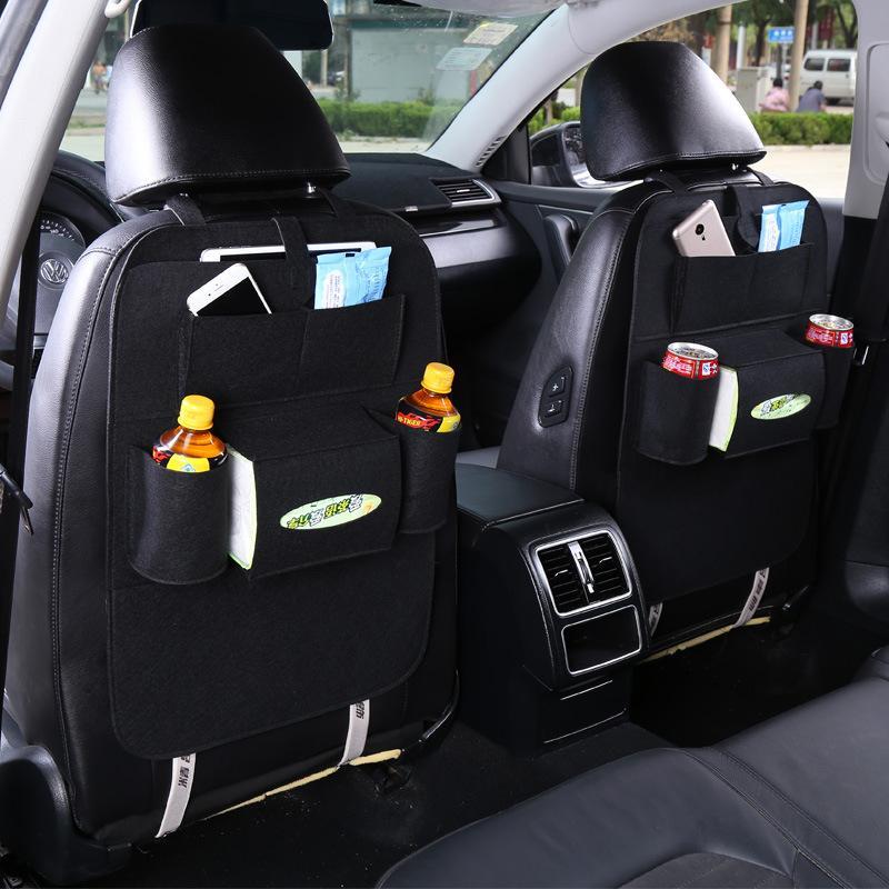2017 New Style Car Auto assento saco Voltar Protector For Children pontapé Carrinho Covers moda bebê saco de fraldas um para mãe