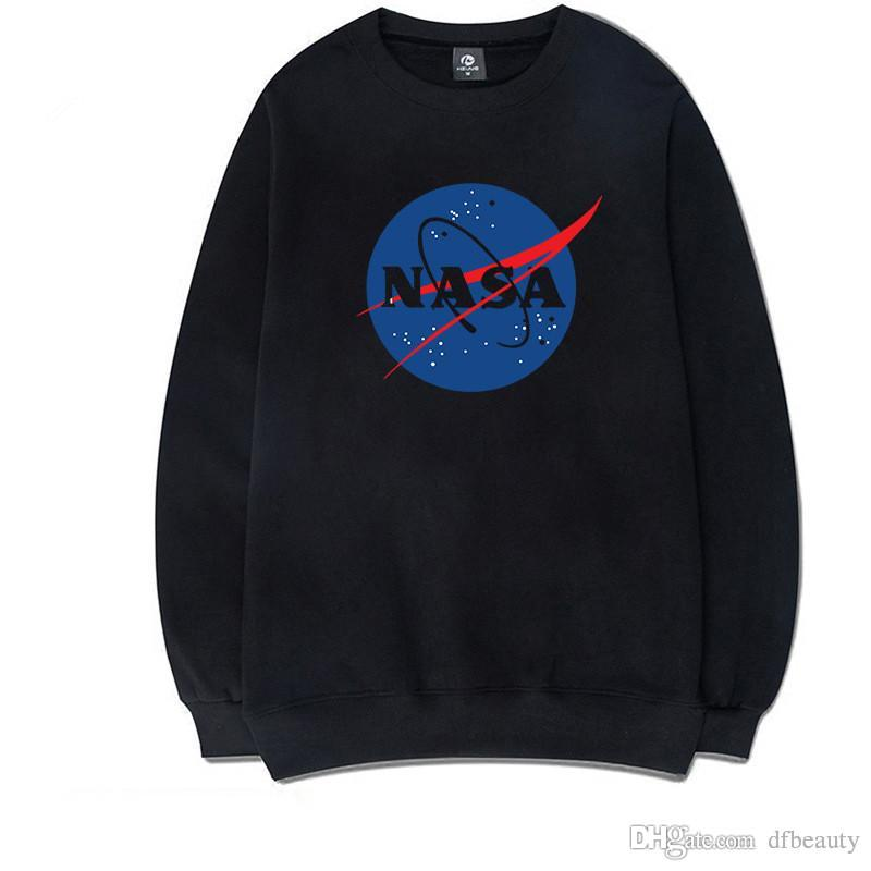 Na moda da NASA Moletom Com Capuz Hoodies Pulôver dos homens Marciano Matt Damon Hoodies Dos Homens Hip Hop Streetwear O-pescoço Moletons com capuz harajuku