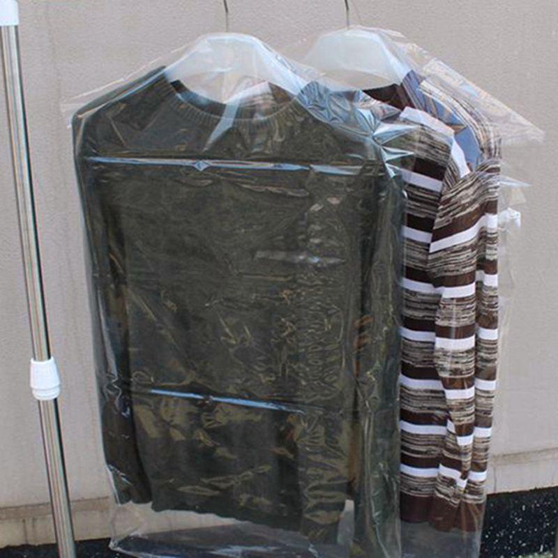 Ropa cubierta a prueba de polvo Ropa plástica transparente Cubierta a prueba de polvo Bolsas de almacenamiento para traje
