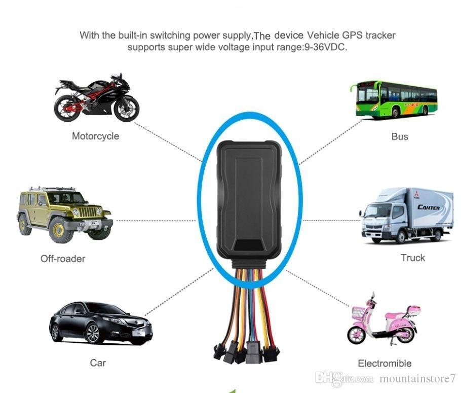 Orijinal 3G GPS Tracker Gerçek Zamanlı Izleme Cihazı WCDMA GSM GPS Bulucu SMS APP Web Izleme Çoklu alarm SOS ACC Tracker (Perakende)