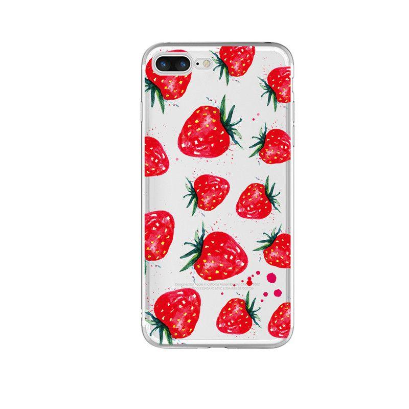 Custom Design Transparent TPU Clear Phone Case Cover For IPhone 7