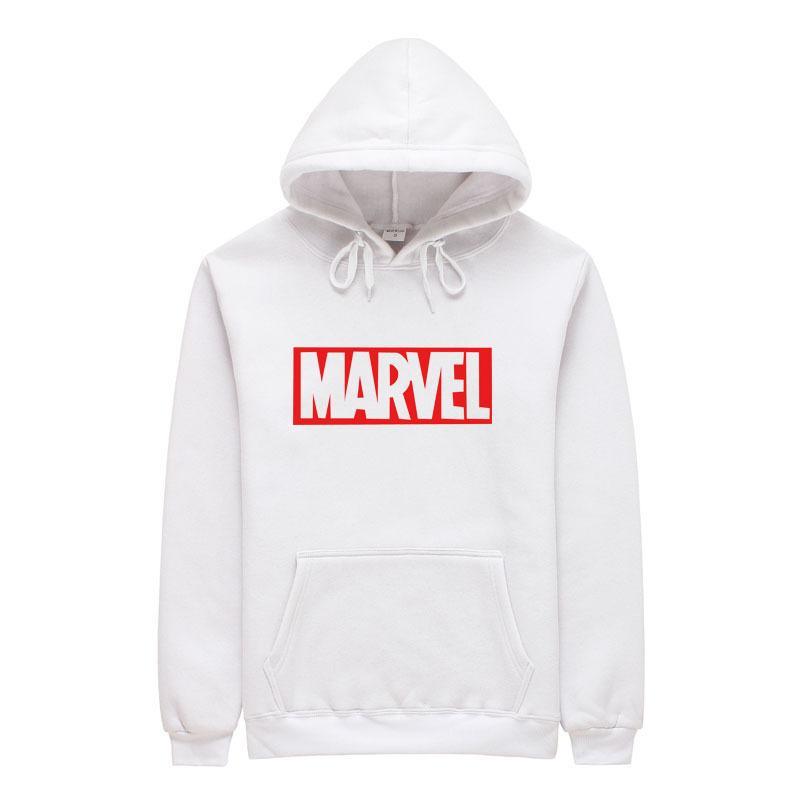 2018 Yeni Marka Marvel erkekler Kadınlar Hoodies Kazak Erkekler Pembe Kaykaylar Erkek Pamuk Kapüşonlu Sweatshirt L18101005