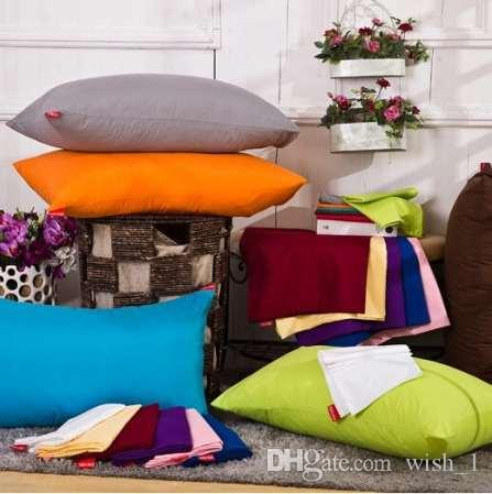45 * 72cm feste pillowcase, Kissenbezüge, Kopfkissen, Farb optional