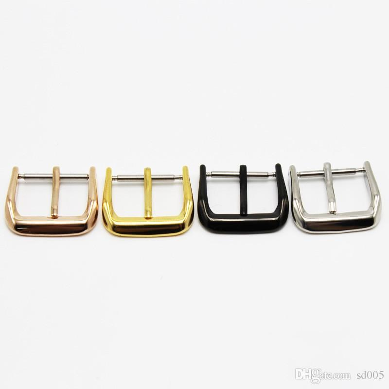 Metal Stainless Steel Watch Buckle Resistance To Fall Polishing Needle Buckles Sturdy Men Women Wristwatch Accessories 2 3fl BB