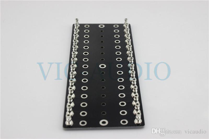 DIY Projects Audio Tag Strip Tag Board Turret Board 6Pins Tin Plated Copper 5PCS