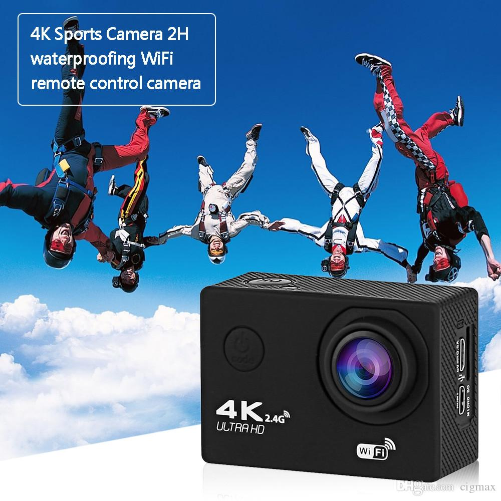V560M Action camera Ultra HD 4K 2H WiFi remote control camera underwater waterproof Car mode Cam sports camera