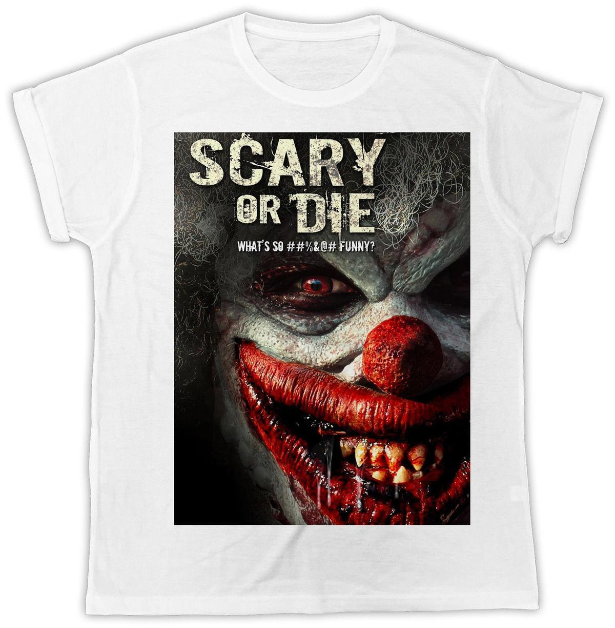 Women/'s T-Shirt Pennywise The Dancing Clown Stephen Kings It