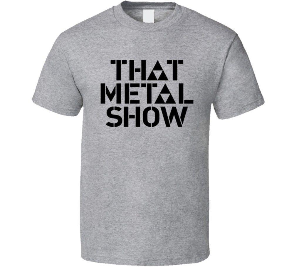That Metal Show Tv Hard Rock And Heavy Metal T Shirt